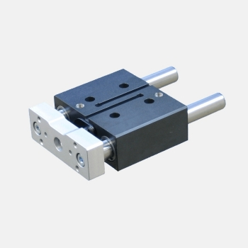 Pneumatic compact guided cylinder